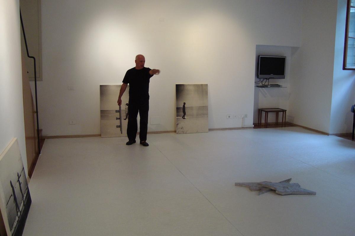 Franco Ionda allestimento mostra