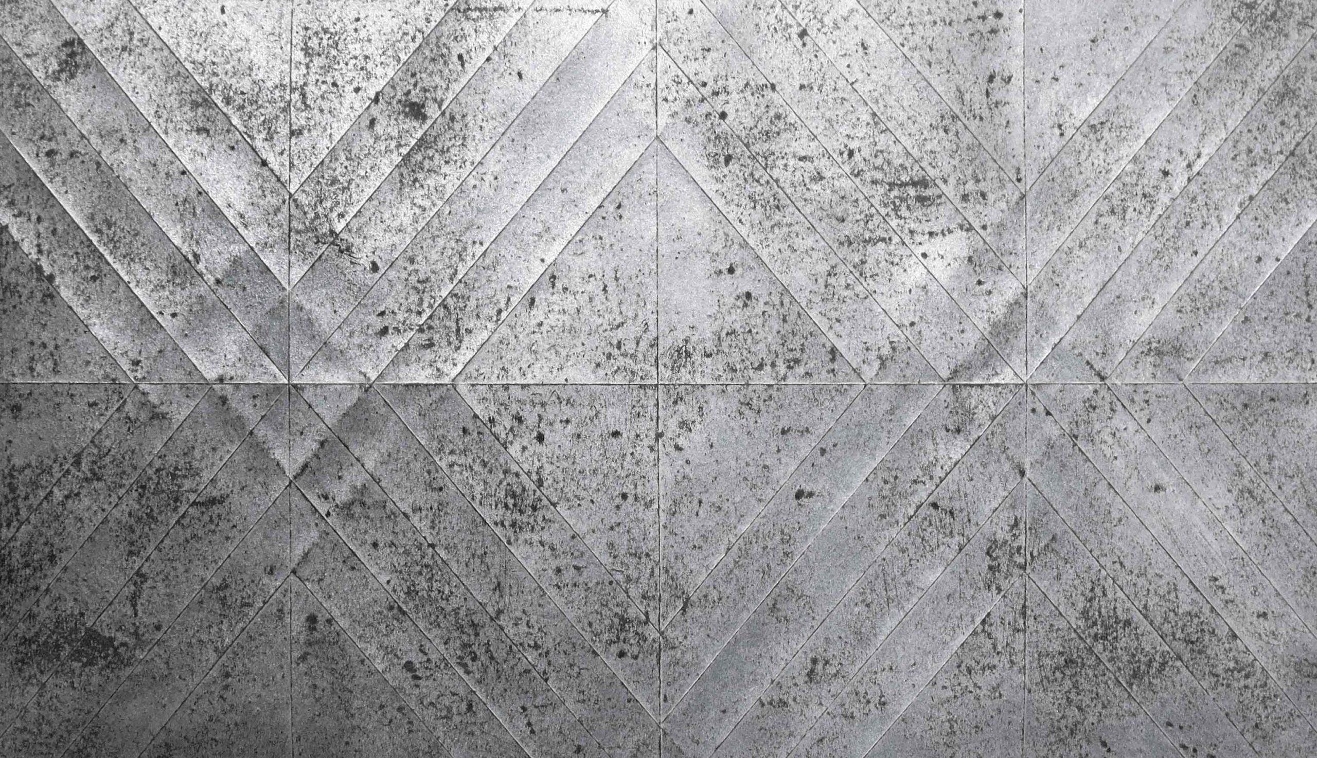 Cristina Treppo, carta catramata trattata e piegata