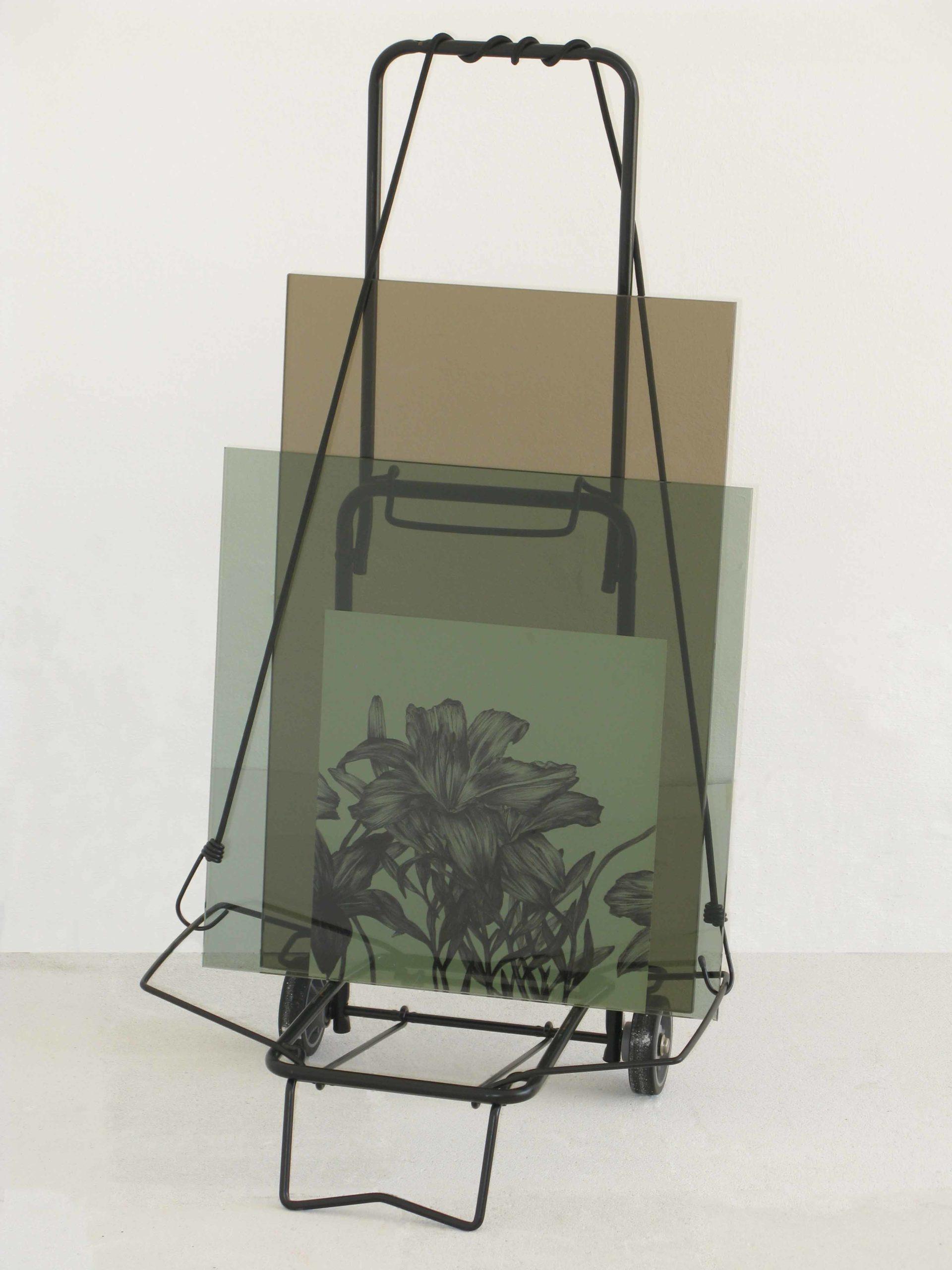Carrello con disegno di Cristina Treppo