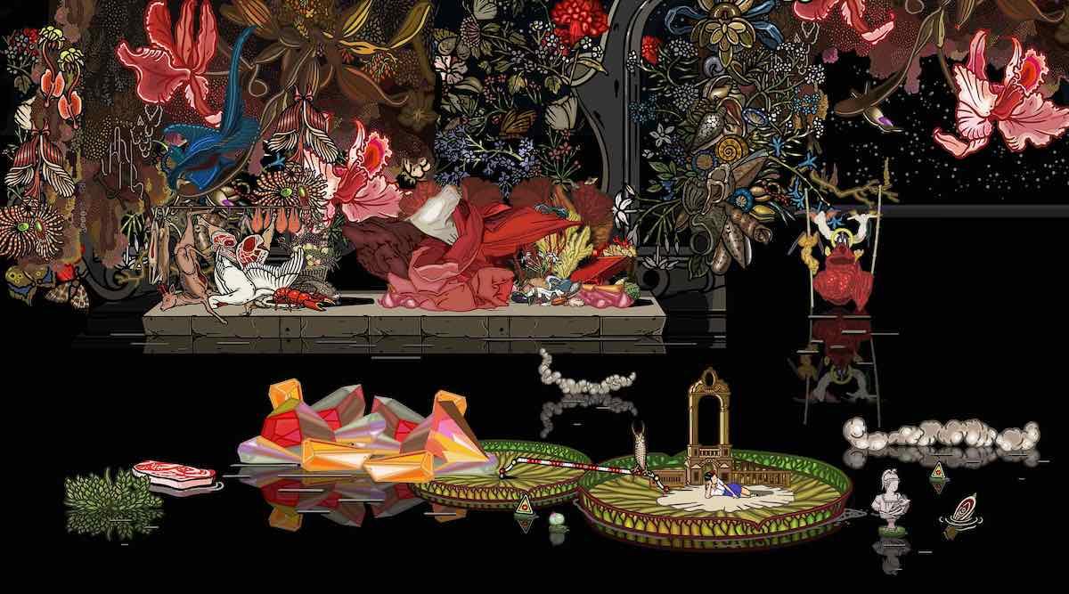 Bu Hua, 2012, pittura digitale, 150x83cm, edizione limitata