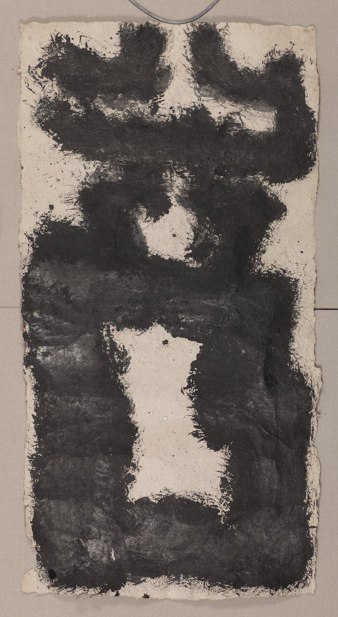 Zhang Fangbai, 2015, , inchiostro su carta fatta a mano, cm 100x200