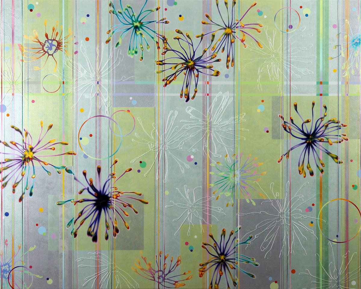 Dany Vescovi, 2014, Tecnica mista su lino, cm120x150